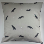 "Cushion Cover in Sophie Allport Labrador 14"" 16"" 18"" 20"""